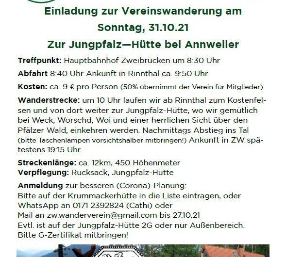 Wanderung zur Jungpfalzhütte